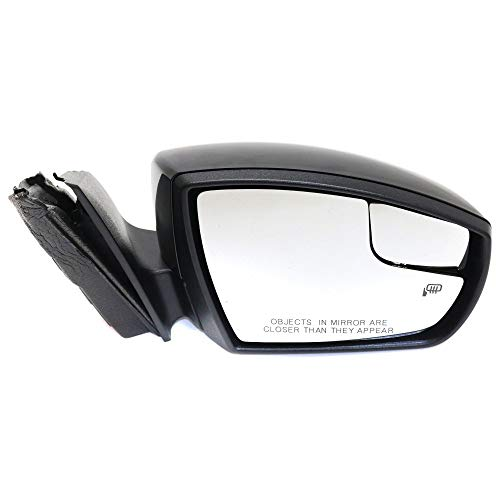 Kool Vue FD259ER-S Mirror for Focus 12-14 Right Side Power Manual Folding Heated W/Signal Light Se/Sel Models Hb/Sedan Paint to match ()