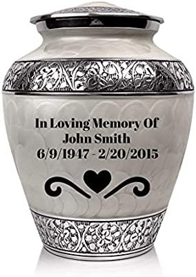 SmartChoice Royal Cremation Urn for Human Ashes Adul Urn