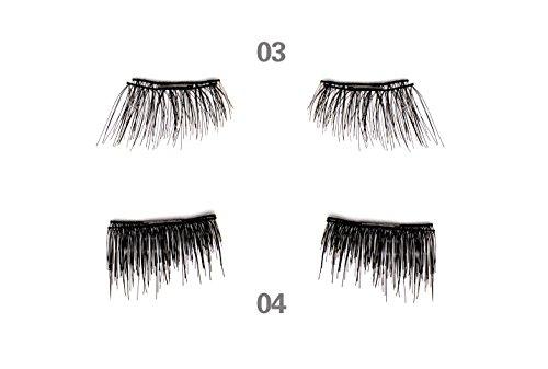 JJMG-NEW-Magnetic-False-Eyelashes-Ultra-Light-weight-3D-Reusable-Feather-weight-False-Eyelashes-Natural-Look-Beauty-Enhancer-2-Pairs-8-pieces-Style-03-04