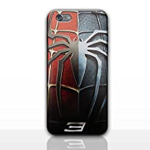 iPhone 5/5s 3D Marvel Silicone Phone Case / Gel Cover for Apple iPhone 5s 5 SE / Screen Protector & Cloth / iCHOOSE / Spiderman 3