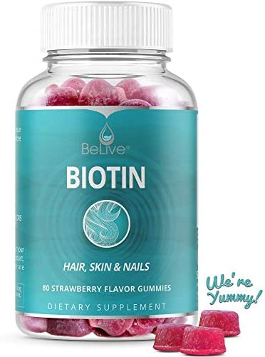 Biotin Gummies Hair Growth Pectin Based product image
