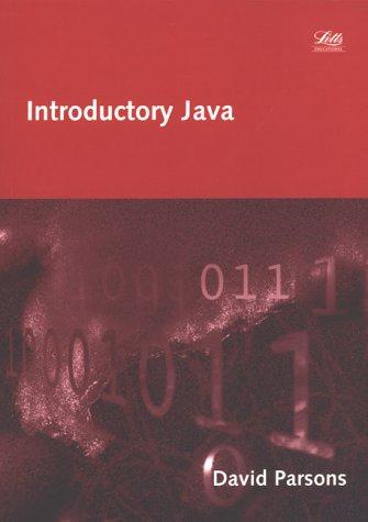 Introductory Java (Computing Programming Textbooks)