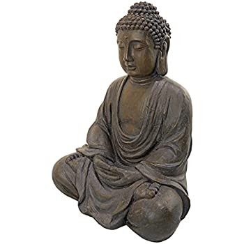 Meditative Buddha of the Grand Temple Medium-Sized Garden Statue