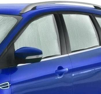 Custom-fit All Side Windows Sun Shade 4 Pieces AutoTech Zone Sun Shade for 2009-2016 Toyota Venza