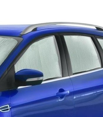 AutoTech Zone Sun Shade for 1996-2017 Chevrolet Express Cargo Van, Custom-fit All Side Windows Sun Shade (4 Pieces)
