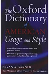 The Oxford Dictionary of American Usage and Style Kindle Edition
