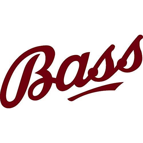 NBFU DECALS Logo Bass ALE (Burgundy) (Set of 2) Premium Waterproof Vinyl Decal Stickers for Laptop Phone Accessory Helmet CAR Window Bumper Mug Tuber Cup Door Wall ()