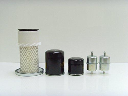 Kubota G1700, G1900 KIT DE SERVICE FILTRE À AIR , huile, Filtres carburant G1900 KIT DE SERVICE FILTRE À AIR RICO