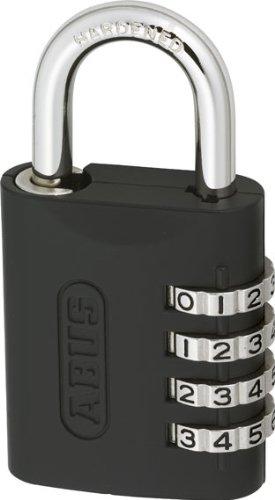 46e0ba8f5da5 ABUS 158/45KC B Zinc Resettable Combination Padlock with Key Conrol