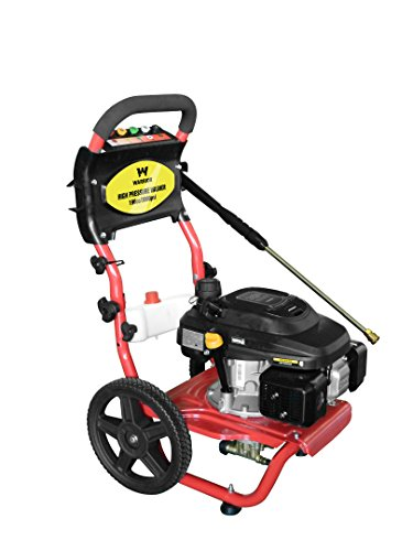 Warrior Tools WR67150 2.3 GPM 196cc Cold Water Gas Pressure Washer, Red by Warrior