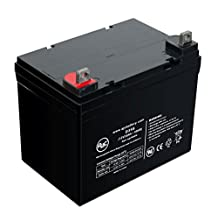 Deep Cycle 12V 35Ah Scooter Battery - This is an AJC Brand® Replacement