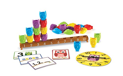 Branch Holiday Cards - Learning Resources 1-10 Counting Owls Activity Set (LER7732)