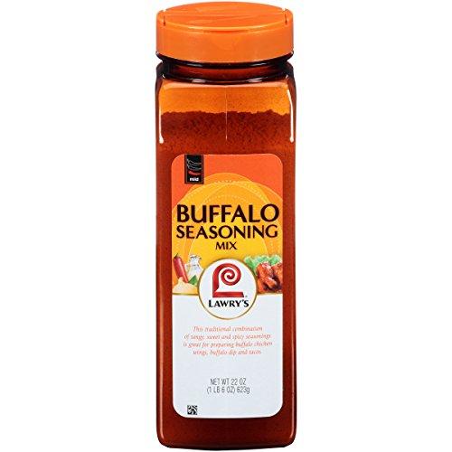 Mild Seasoning (Lawry's Mild Buffalo Seasoning Mix, 22 oz)