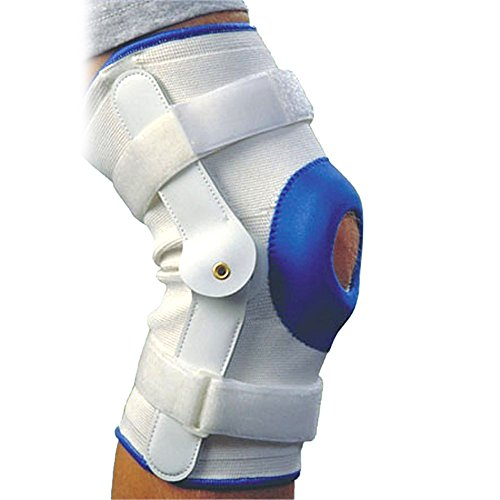 Alex Toys Deluxe Compression Knee Support With Hinge - Small