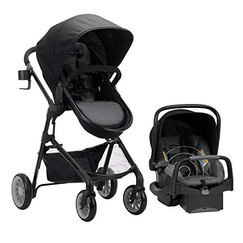 Evenflo Pivot Modular Travel System with SensorSafe SafeMax Infant Car Seat, Rockland