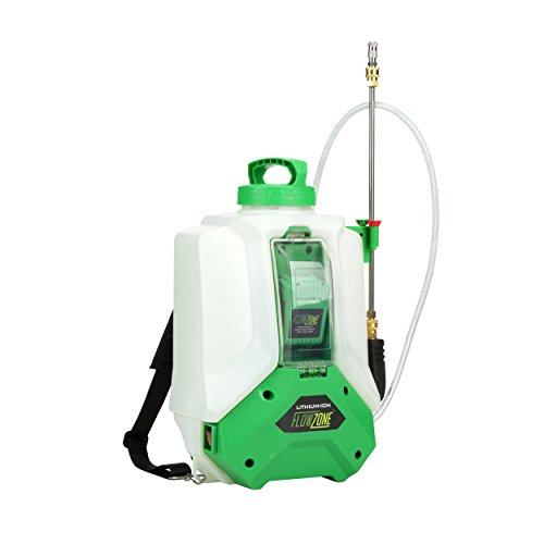 Typhoon 4-Gallon Multi-Use Continuous-Pressure 18V/5.2Ah Lithium-Ion Backpack Sprayer by FlowZone