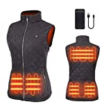 duo-nattern Heated Vest For Women USB Rechargeable
