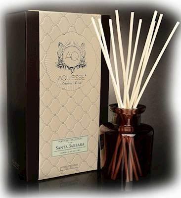 Aquiesse SANTA BARBARA REED DIFFUSER Portfolio Collection Gift Boxed