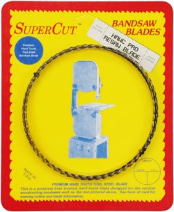 SuperCut B89.5H12T3 Hawc Pro Resaw Bandsaw Blade, 89-1/2'' Long - 1/2'' Width; 3 Tooth