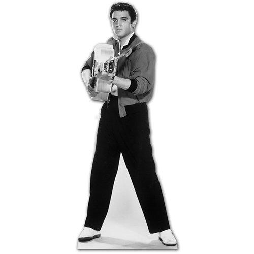 SC238 Elvis Shooting Guitar Cardboard Cutout Standup ()