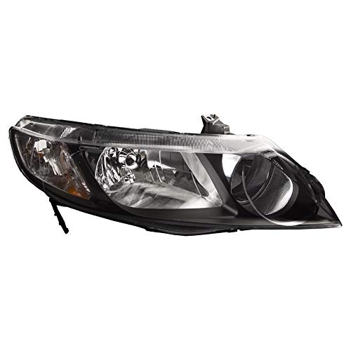 HEADLIGHTSDEPOT Compatible with Honda Civic Headlight OE Style Replacement Headlight Right Passenger Side