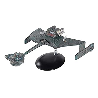 Star Trek The Official Starships Collection | Klingon K't'inga-Class Battle Cruiser 8-inch XL Edition with Magazine Issue 7 by Eaglemoss Hero Collector: Toys & Games