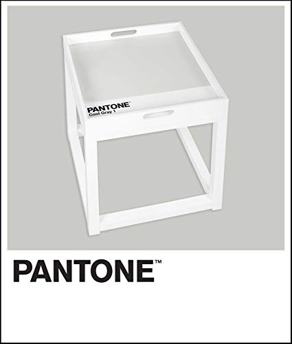 (Pantone FUTB10058A Removable Tray Table, Cool Gray 1)