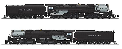 Broadway Limited Imports BLI #4985 HO-scale Union Pacific 4-6-6-4 Challenger UP 3985