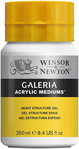 Heavy Gel - Winsor & Newton Galeria Acrylic Medium Heavy Structure Gel, 250ml