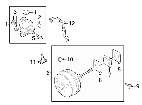 Ford OEM Power Brake Booster Check Valve DL3Z2365A Image 11