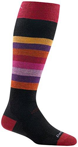 Darn Tough Shortcake OTC Cushion Socks - Women's Black Medium