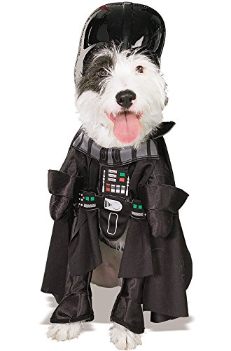 Large Dog Costumes (Star Wars Darth Vader Pet Costume, Extra Large)