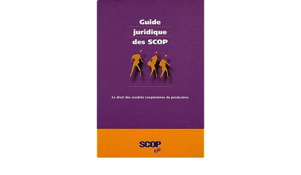 guide juridique des scop