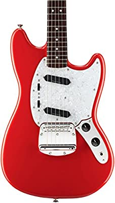 Squier Vintage Modified Mustang Electric Guitar, Rosewood Fingerboard, Vintage White by Fender Musical Instruments Corp.
