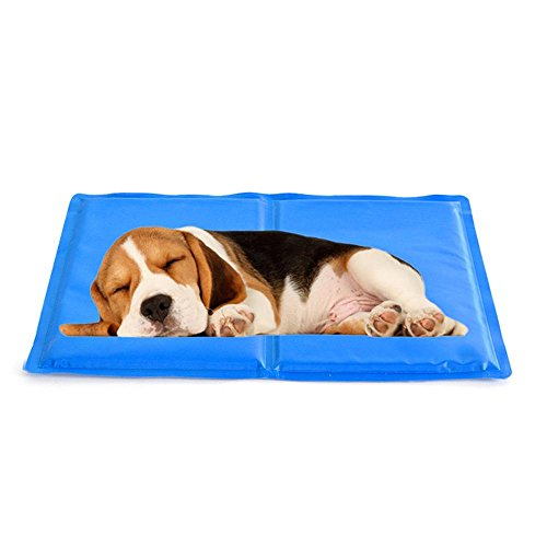 Aolvo Cool Pet Bed,Pet Cooling Mat Pad for Kennels,Sofa,Car Seat,Beds|Help Your Pet Stay Cool and Reduce Joint Pain|Prevent Overheating and Dehydration|Perfect for Indoor Outdoor Home Travel