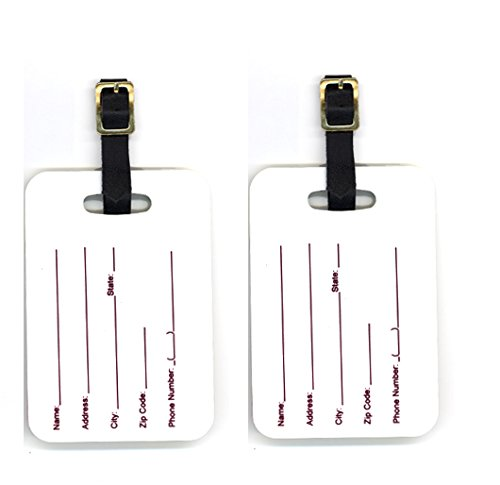 Caroline's treasures pair of 2 drever luggage tags