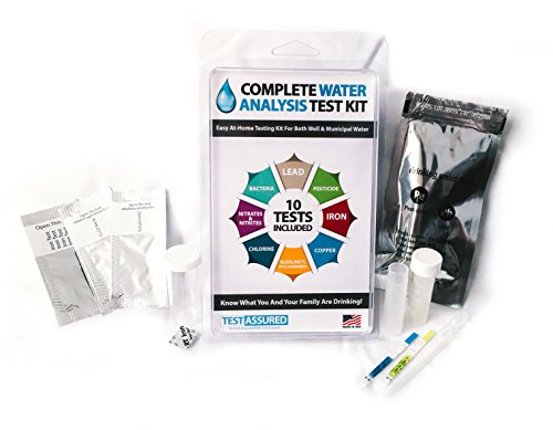 Drinking Water Test Kit - 10 Minute Testing For Lead Bact...