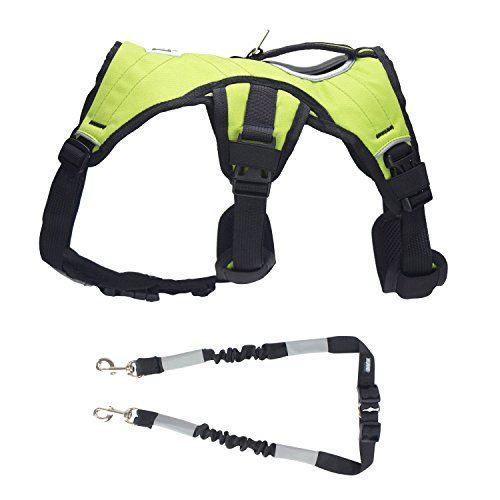 Fleece Harness (Explorer by FrontPet Dog Harness With Included Dog Pulling Leash / Dog Harness)