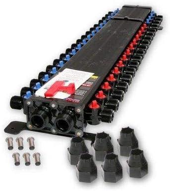 Zero Lead Polymer Get a Viega 36363-1//2 Viega Compression ManaBloc 36 Ports 14 Hot 22 Cold