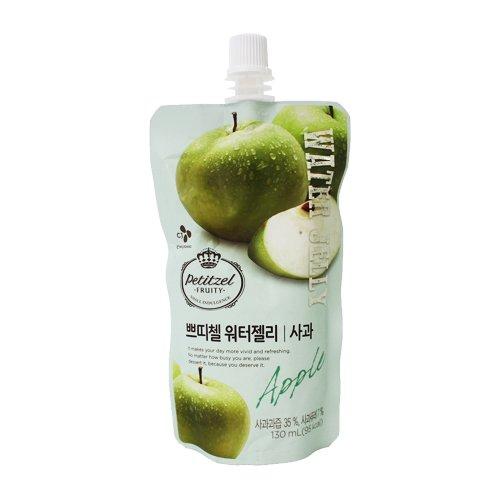 [5packs] CJ Petitzel Water Jelly (Apple) 130ml / Dessert / Fruit vegetable beverage / Korean food