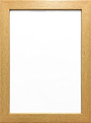 Amazon.com: 70X50CM OAK COLOUR MODERN BOX FRAMES WOOD FINISH PHOTO ...