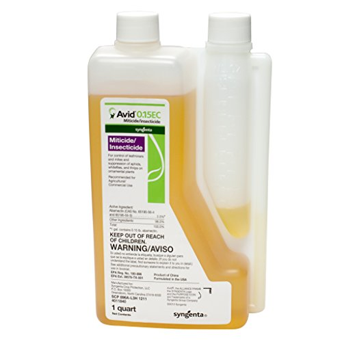 - Syngenta A8612A Avid 0.15EC Miticide/Insecticide