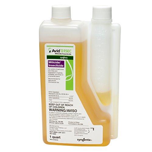 Avid 0.15 EC Miticide/Insecticide Quart by Avid 0.15 EC
