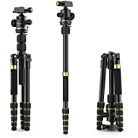 Tripod, Sinnofoto K888 Professional Aluminum Camera Tripod with Kits and Ball Head for Nikon, Canon, Bentax, Sony DSLR and Digital Camera