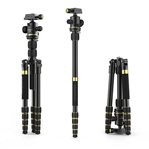 Nikon D200 Tripod (Tripod, Sinnofoto K888 Professional Aluminum Camera Tripod with Kits and Ball Head for Nikon, Canon, Bentax, Sony DSLR and Digital Camera)