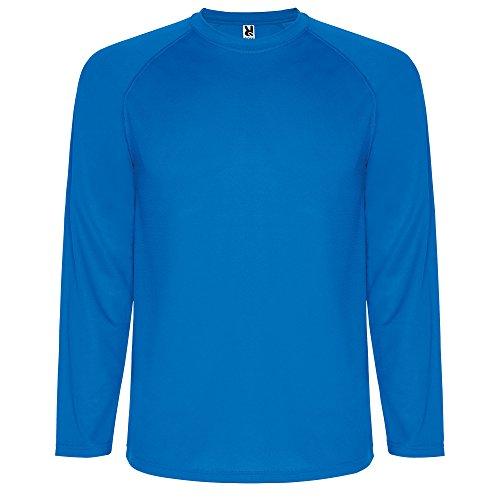 CAMISETA ROLY Herren Langarmshirt blau Royal
