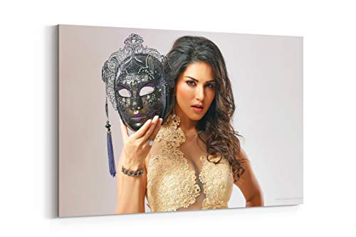 35908825 Sunny Leone Image Hd - Canvas Wall Art Gallery Wrapped 26