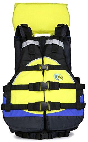 MTI Adventurewear Explorer Life Jacket, Yellow/Blue/Black, Universal Size