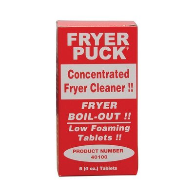Fryer Puck 401304001 4oz Deep Fryer Cleaner Tablets (5 Tabs/Box)