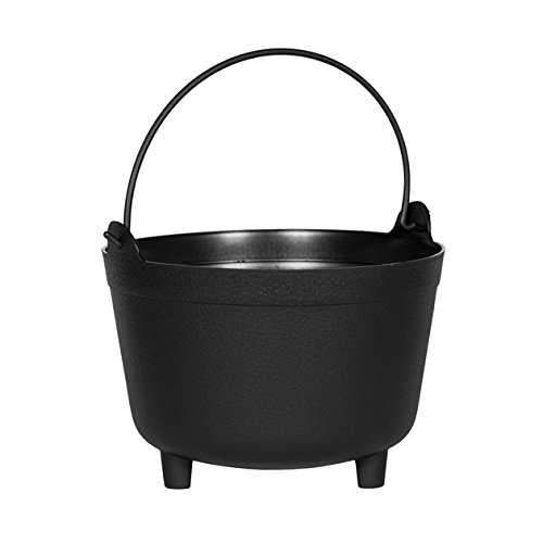 Novelty MFG 48128 Antique Kettle Planter, 12-Inch, (Antique Novelty)